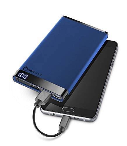 POWER BANK 6000MAH BLUE